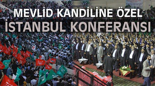 Mevlid Kandiline Özel İstanbul'da Konferans