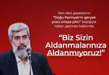 """Akit Gazetesinin """"Perinçek'in Gerçek Yüzü Ortaya Çıktı"""" Başlıklı Haberi Hakkında"""
