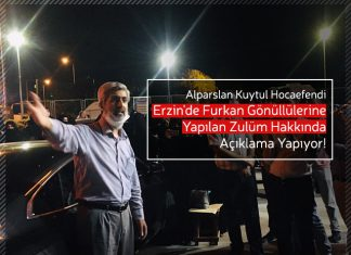 Alparslan Kuytul Hocaefendi Erzin'de Yapılan Zulüm Hakkında Açıklama Yapıyor!