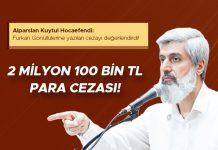 Furkan Vakfı ve Gönüllülerine Kesilen 2 Milyon 100 bin tl Para Cezası Hakkında!