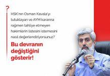 HSK'nın, Osman Kavala'yı Tutuklayan, Tahliyeye İtiraz Eden Hakim ve Savcıların Listesini İstemesi Hakkında