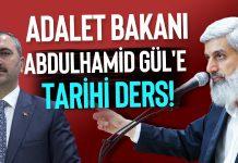 Bunu başlığı Alparslan Kuytul Hocaefendi'den Abdülhamid Gül'e Adalet Dersi!
