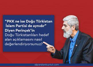 """Perinçek'in """"Doğu Türkistan İslam Partisi Teröristtir."""" Açıklaması Hakkında"""