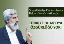 Sosyal Medya Platformlarına Reklam Yasağını Değerlendirdi