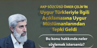 Alparslan Kuytul, Ömer Çelik'in Uygur Türklerine Yönelik Yaptığı Açıklamayı Değerlendirdi!