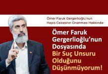 Gergerlioğlu'na hapis cezası